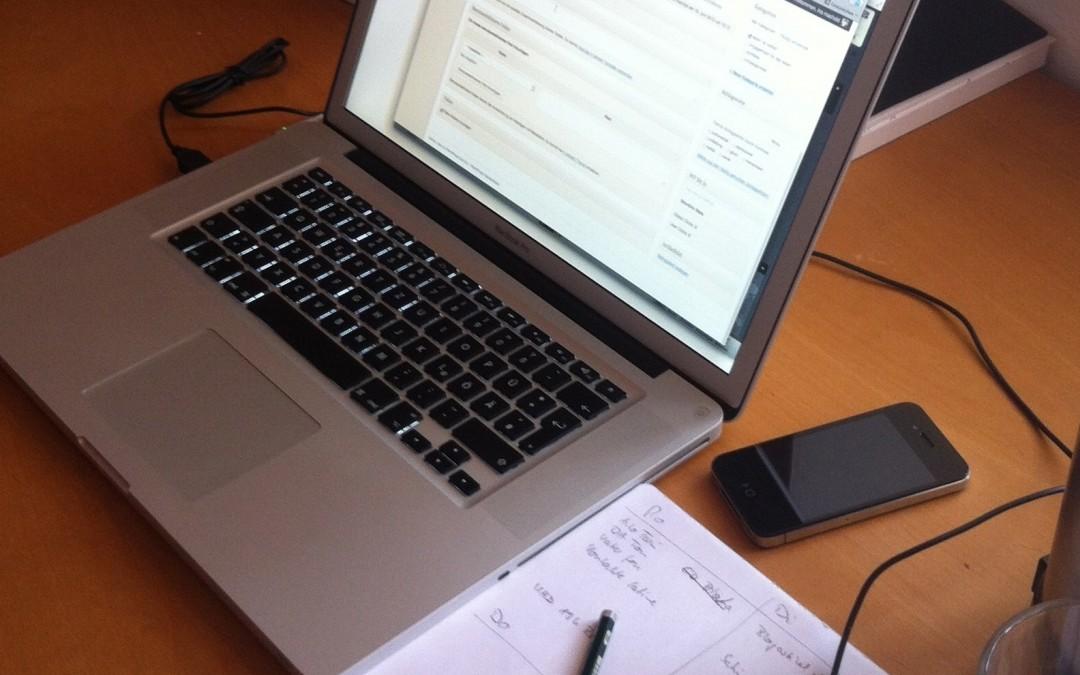 So blogge ich. »This is how I work« #Blogstöckchen